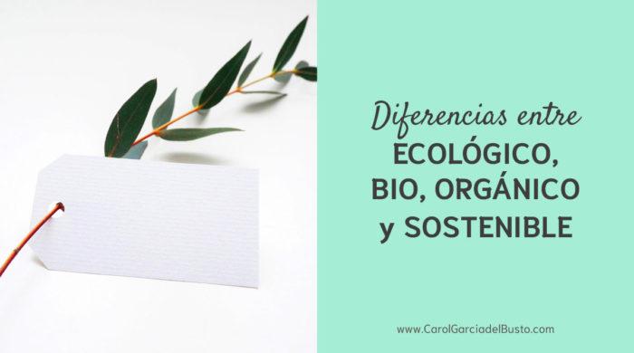 eco bio organico
